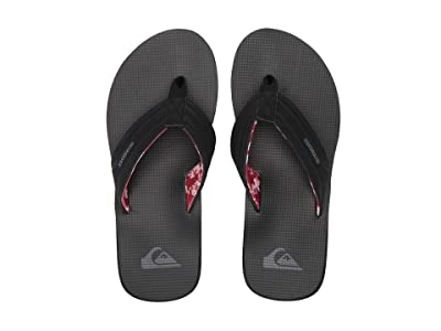 Quiksilver Island Oasis (Black/Red/Grey) Men