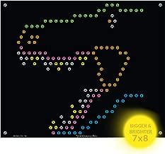 IllumiPeg Lite-Brite Refill Sheets for Basic Fun Ultimate Classic Toy - Dinosaur T-Rex Light Bright Refill Templates (10 Pack)