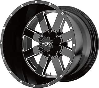 MOTO METAL MO962 GLOSS BLACK MILLED MO962 22x14 8x170.00 GLOSS BLACK MILLED (-76 mm) RIM