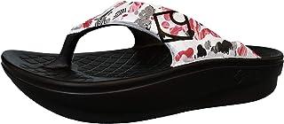 【rig Recovery Footwear】リグ・リカバリーサンダル(疲れた足を解放する!日本発のリカバリーサンダル) FLIP-FLOP フリップフロップ Flowerdelic/フラワーデリック RG0005FD