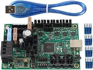 FYSETC Controladores de impresora 3D Prusa i3 Mini-Rambo 1.3a placa base para DIY Prusa i3 MK2 piezas accesorios