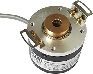XH20DB-37-SS-1024-ABZC-28V//V-SM18 BEI Sensors 01039-2485 H20 Rotary Incremental Optical Encoder 1024 ppr 2 1.25 diameter pilot and 3//8 diameter shaft Heavy duty 2 diameter square flange mount