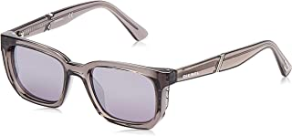 DIESEL Unisex Adults' DL0257 20C 47 Sunglasses, Grey (Grigio)