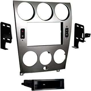 Metra 99-7523S 2003-2005 Mazda 6 Double and ISO DIN Radio Install Kit,Silver