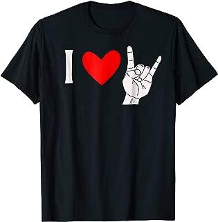 I Love Heavy Metal Tshirt