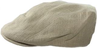 db4d53fac60 Biddy Murphy Mens Flat Irish Hat Linen Three Panel Made in Ireland