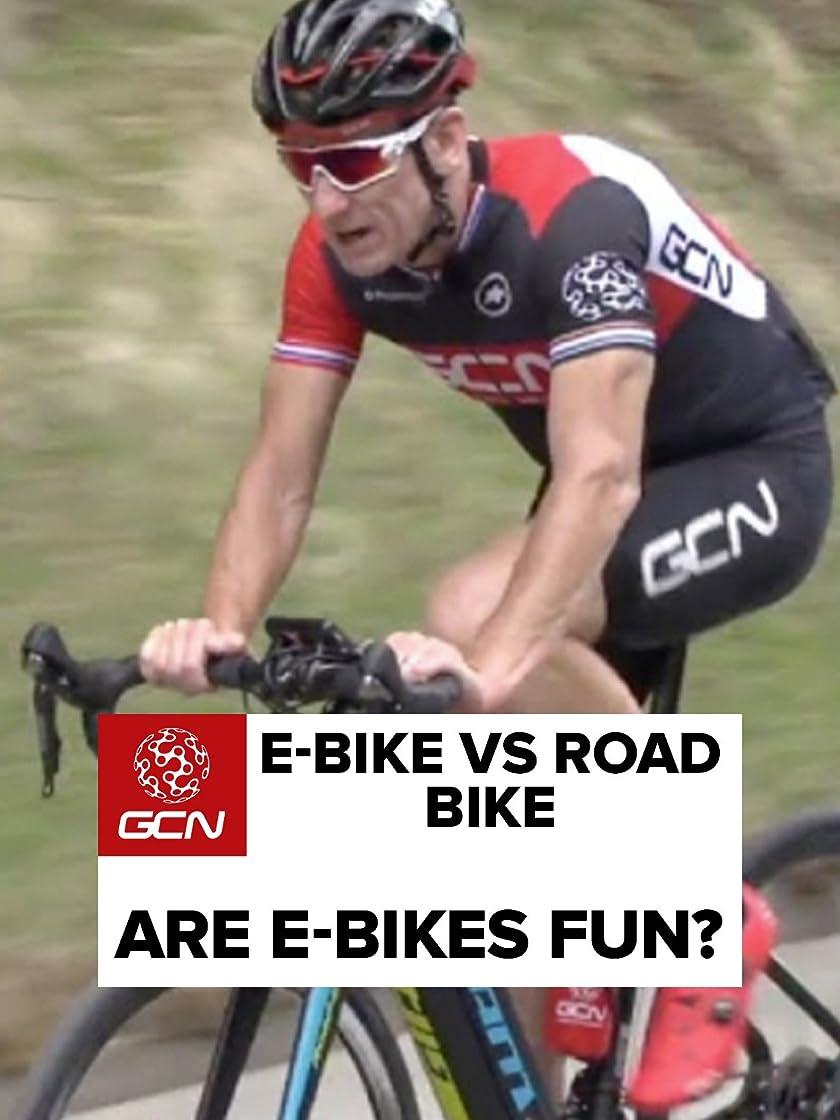 プロフェッショナル休暇受信E-Bike Vs Road Bike - Are E-Bikes Fun?