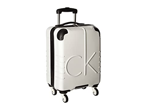 "Ck-526 Islander 19"" Upright Suitcase, White"