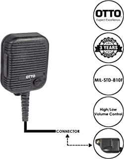 OTTO Evolution Speaker Microphone for Harris XG75 XG25 and P7300 Series Two Way Radios