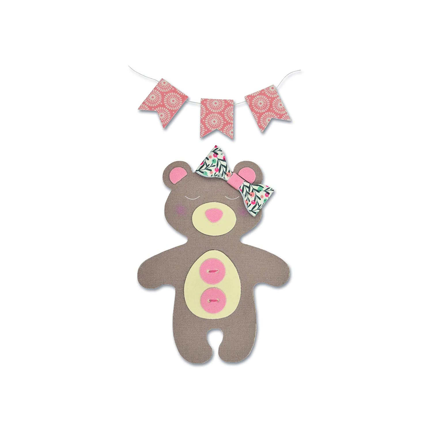 Sizzix 663352 Bear Dies One Size Multicolor