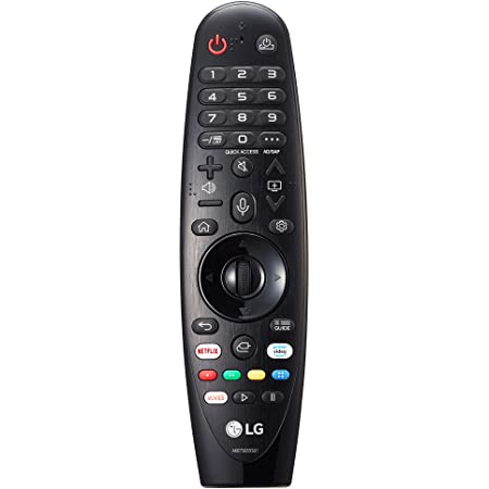 LG Magic Control MR20GA - Mando a Distancia para Smart TV LG 2020 (Reconocimiento de Voz, apunta y navega, Rueda de Scroll, Teclado numérico, Botones ...