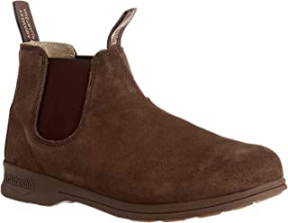 Blundstone Suede Elastic Sided Boot (11 M AU / 12 D US) Brown/Crazy Horse