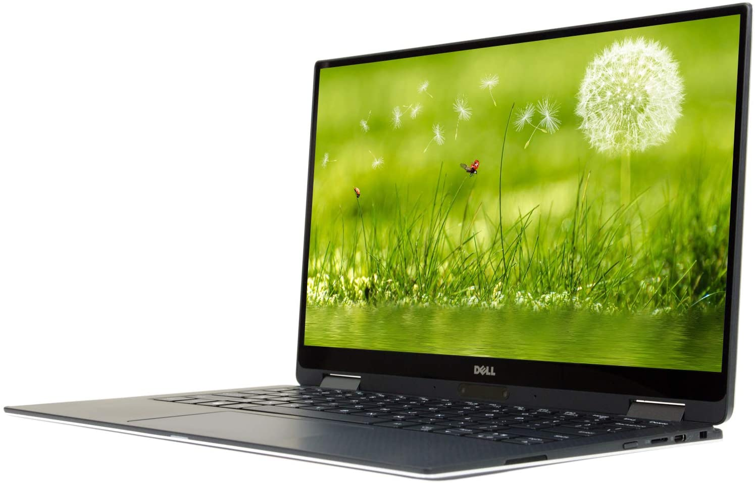 Dell XPS 13 9365 13.3 inches FHD, Core i7-7Y75 1.3GHz, 16GB RAM, 256GB Solid State Drive, Windows 10 Pro 64Bit, CAM, Touch (Renewed)