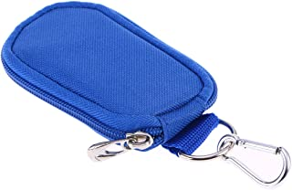 Lurrose Keychain Essential Oil Carrying Case Travel Oil Carry Organizer Pouch Carrying Storage Bags for Travel or Home Storage (Blue)
