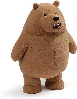 GUND We Bare Bears Standing Grizz Stuffed Plush Bear, 11