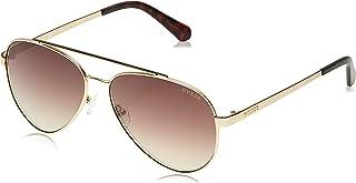 GUESS Unisex Adults' GU6918 32G 59 Sunglasses, Gold (Oro/Marrone Specchiato) - 145 mm