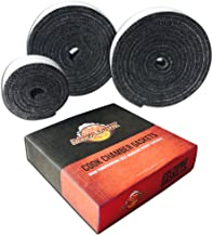 Nomex High Temp Replacement BBQ Gasket for All Kamado Smokers (Joe, Primo, Grill Dome, King, Komodo, saffire etc)