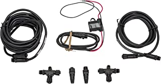 MotorGuide 8M0107522 NMEA 2000 Starter Kit,  for Setting Up NMEA 2000 Network,  Backbone Cable,  T Connectors,  Extension Cable,  Black