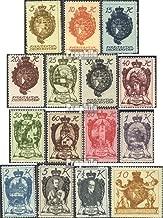 Liechtenstein 25-39 (Complete.Issue.) 1920 Clear Brands (Stamps for Collectors)