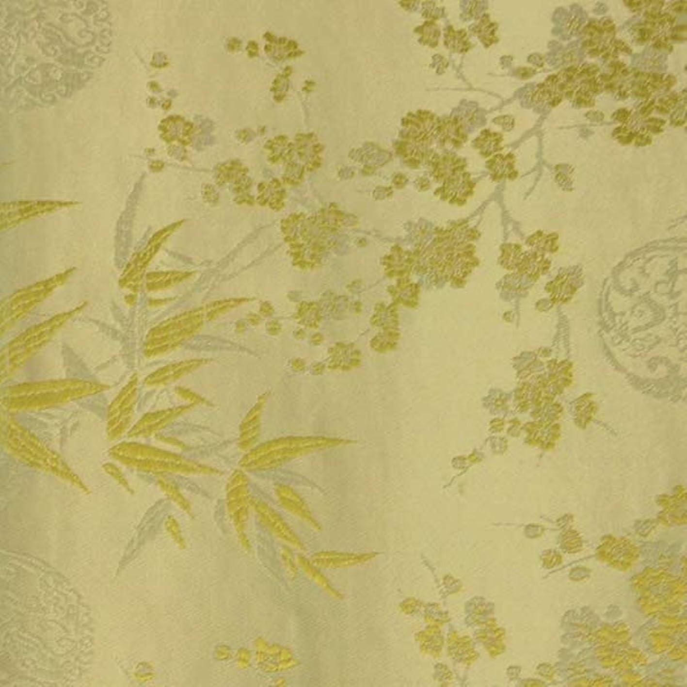 Wrapables Bamboo Satin Brocade Decorative Paper, Golden/Cream, Set of 3 igumvqxzeij971