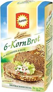 Aurora 6-Korn Brot Brotbackmischung 500g