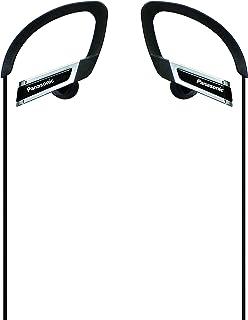 Panasonic Black Canal Type Earphone Ear Hanging Type drip-Proof Sports RP-HS200-K