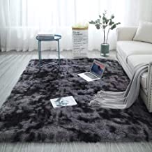 Area Rug Fluffy Shag Rugs Floor Mat Modern Luxury Rectangle Carpet Ultra Soft Comfy for Bedroom Living Room Kid Room Hotel...