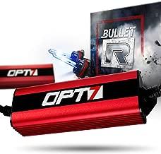OPT7 Bullet-R 9007 Bi-Xenon HID Kit - 3X Brighter - 4X Longer Life - All Bulb Sizes and Colors - 2 Yr Warranty [6000K Lightning Blue Light]
