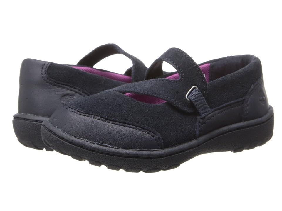 Timberland Kids Earthkeepers(r) Baileyville (Toddler/Little Kids) (Navy) Girls Shoes
