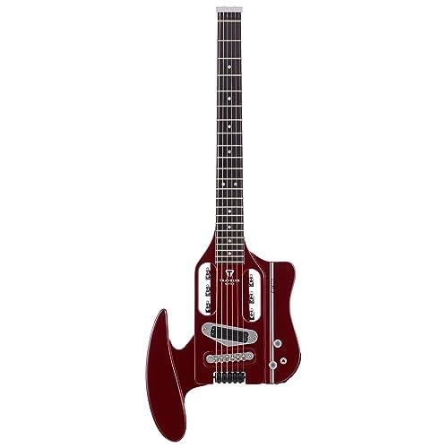 Traveler Guitar SPD HRR V2 Speedster Hot-Rod Electric Travel Guitar with Gig Bag,