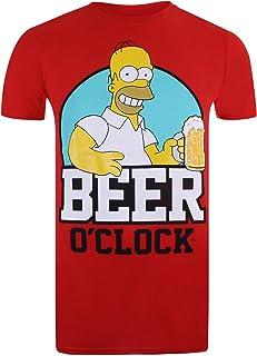 The Simpsons Men's Beer O Clock T-Shirt