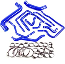 Silicone Radiator Coolant Hose Kit Clamps For Subaru Impreza WRX/STi GDA/GDB EJ207 2002-2007 Blue
