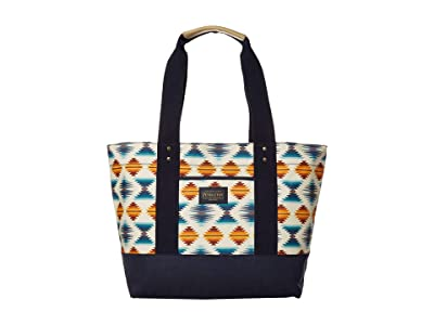 Pendleton Canopy Canvas Tote (Falcon Cove Sunset) Tote Handbags