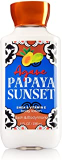 Bath & Body Works Shea & Vitamin E Lotion Agave Papaya Sunset
