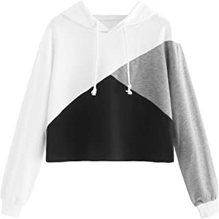 Best color block cut and sew hoodie Reviews