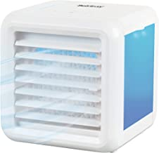 Beldray EH3139V2 Ice Cube Plus+ Portable Table Top Personal Space Air Cooler | 5 W | LED Lights | 3 Speeds | 2 x 300 ml Wa...