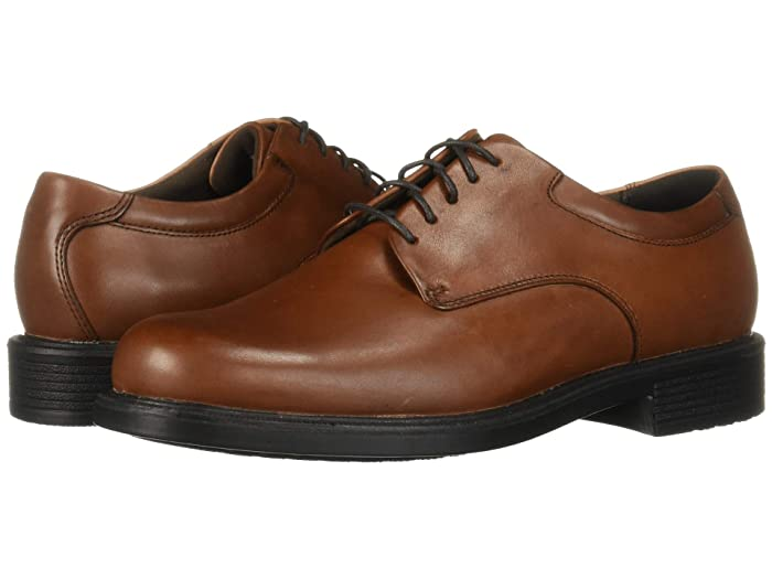 Rockport  Big Bucks Margin (New Brown) Mens Dress Flat Shoes