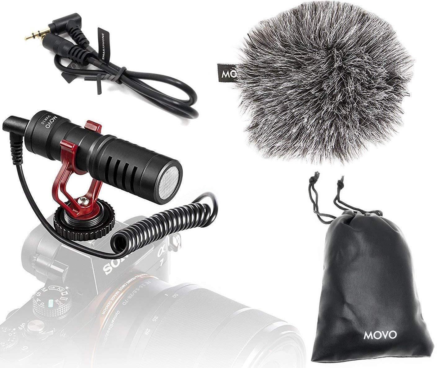 Movo VXR10 Microphone Windscreen Smartphones