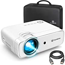 "VANKYO Leisure 430 Mini Movie Projector, 3800 Lux Video Projector with 50,000 Hours LED Lamp Life, 236"" Display, Support 1080P, HiFi Built-in Speaker, Compatible with TV Stick, HDMI, SD, AV, VGA, USB"