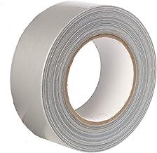 Gocableties Universele textieltape, zilver, 48 mm x 50 m, sterke pantsertape, 1 rol plakband