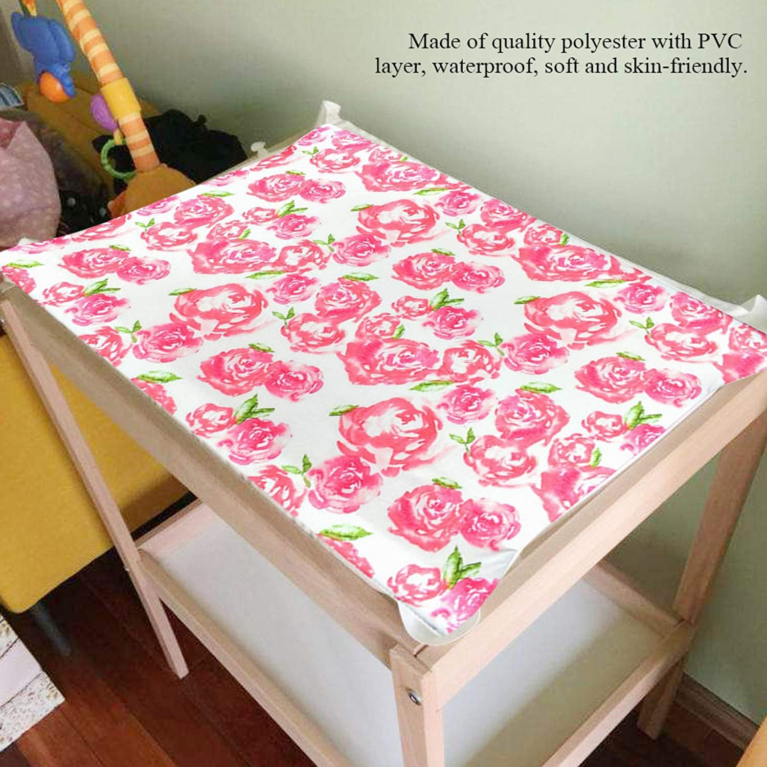 arrow Changing Table Pad Cover Asixxsix Washable Comfortable Changing Mat Cover PVC Layer for Baby