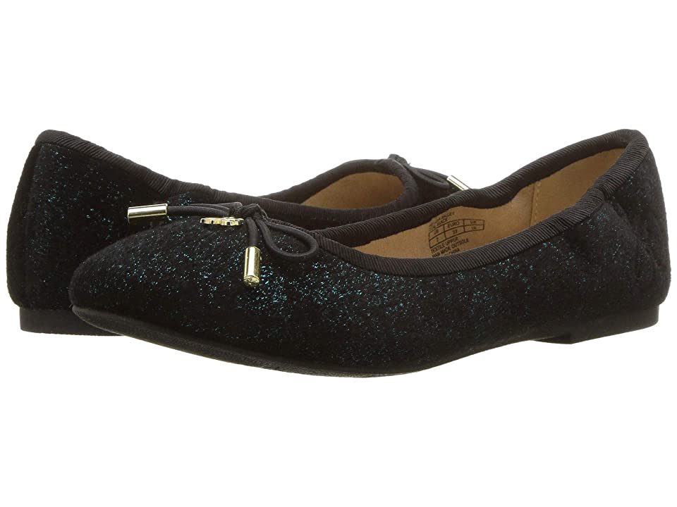 Sam Edelman Kids Felicia Ballet (Little Kid/Big Kid) (Teal/Black) Girls Shoes