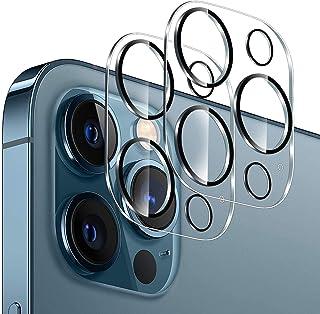 واقي عدسة كاميرا Larook لهاتف OnePlus 9R ، صلابة عالية، وضوح عالي الدقة [مضاد لبصمات] فيلم واقي لعدسة الكاميرا -عبوة من قط...