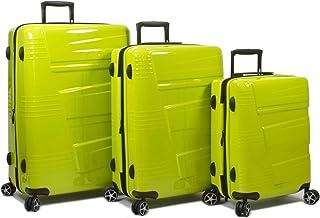 Dejuno Lumos Hardside 3-Piece Expandable Spinner Luggage Set