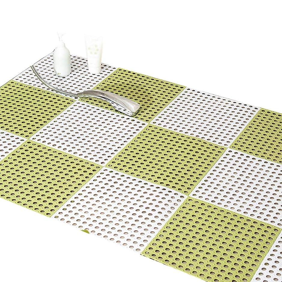 見せます寄付する適応XXIOJUN バスルームマット,シャワーマットノンスリップスプライス帯電防止ホルムアルデヒドフリーバルコニーカスタマイズをサポートPVC、3つのスタイル、17のサイズ (Color : A, Size : 30pieces)