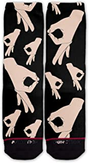 Function - Circle Game Pattern Fashion Socks