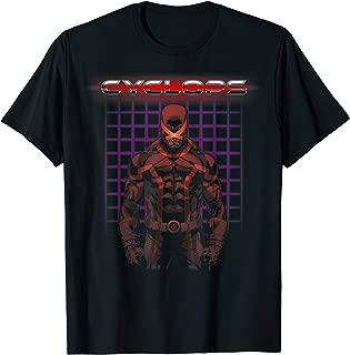 X-Men Cyclops Retro 80's Gridlock Graphic T-Shirt