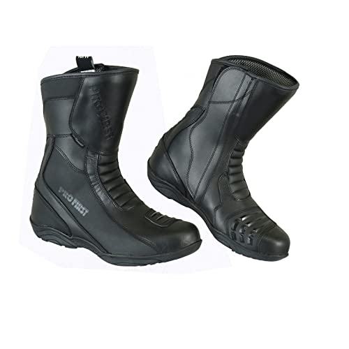 Full Leather Commando Motorbike Motorcycle Armoured Shoes Boots Racing Touring