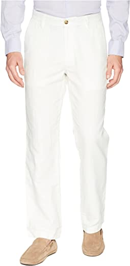 Classic Fit Linen Pants