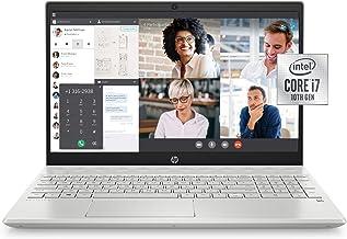 HP Pavilion 15-inch Laptop, Intel Core i7, 16 GB RAM, 512 GB SSD Storage, Intel Iris Plus Graphics, Windows 10 Pro, Amazon...